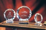Sunrise Clear Optical Crystal Awards