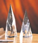 Apex Clear Optical Crystal Awards