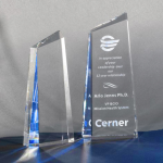 Glacier Clear Optical Crystal Awards