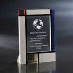 Mondrian Cobalt Glass Awards