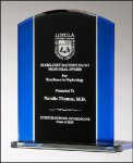 Premium Series Glass Award Cobalt Glass Awards