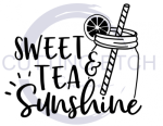 Sweet Tea and Sunshine Coffee Tea Designs