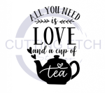 All You Need is Love and a Cup of Tea Coffee Tea Designs