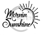 Mornin' Sunshine Coffee Tea Designs