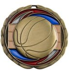 CEM Medal -Basketball Color Epoxy Medal Awards