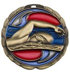 CEM Medal -Swimming Color Epoxy Medal Awards