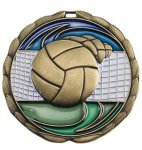 CEM Medal -Volleyball  Color Epoxy Medal Awards