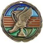 CEM Medal -Track  Color Epoxy Medal Awards