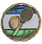 CEM Medal -Tennis Color Epoxy Medal Awards