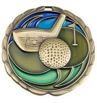 CEM Medal -Golf Color Epoxy Medal Awards