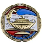 CEM Medal -Scholastic  Color Epoxy Medal Awards