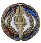 CEM Medal -Victory  Color Epoxy Medal Awards