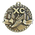 Burst Thru Medal -Cross Country  Cross Country Trophy Awards