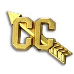 Cross Country Chenille Letter Pin Cross Country Trophy Awards
