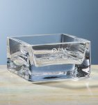 Baldwin Square Bowl Crystal Barware Stemware
