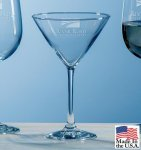 Selection Martini Crystal Barware Stemware