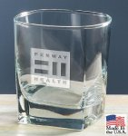 Signature Square Double Old Fashioned Crystal Barware Stemware