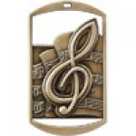 Dog Tag Medals -Music DT Series Medal Awards