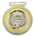 Dual Plated Medallion -Victory Dual Plated Medal Awards