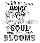 Faith in your Heart Faith Designs