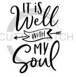 It is Well with My Soul Faith Designs