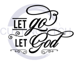 Let Go.Let God Faith Designs