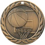 FE Series Medals -Basketball FE Iron Medal Awards