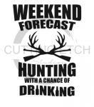 Weekend Forecast Hunting Fishing and Hunting Designs
