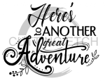 Here's to Another Great Adventure Graduation Designs