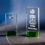 Alta Mesa Green Optical Crystal Awards