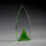 Frolic Green Optical Crystal Awards
