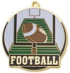 High Tech Medal -Football High Tech Medal Awards