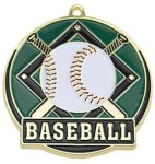 High Tech Medal -Baseball  High Tech Medal Awards