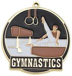 High Tech Medal -Gymnastics Male High Tech Medal Awards