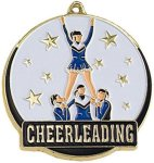 High Tech Medal -Cheerleader  High Tech Medal Awards