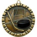 3-D IM Medals -Hockey Hockey Trophy Awards