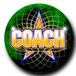 Mylar -Coach Insert Medallion Awards