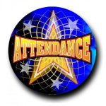 Mylar -Attendance Insert Medallion Awards