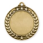 Wreath Medal -Insert Medal Insert Medallion Awards