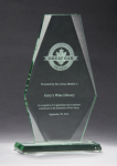 Premium Series Jade Glass Award Jade Glass Awards