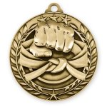 Wreath Medal -Martial Arts  Karate Trophy Awards