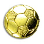 Soccer Chenille Letter Pin Lapel Pins