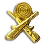 Rifles Chenille Letter Pin Lapel Pins