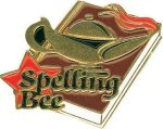 Spelling Bee Pin Lapel Pins
