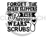 Forget the Glass Slipper This Princess Wears Scrubs Medical Designs