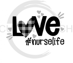 Love #Nurselife Medical Designs