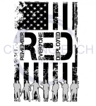 RED Remeber Everyone Deployed  Military Designs