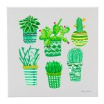 Canvas Succulents (6) (CE) Misc. Gift Awards