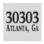 Canvas Zip Code (Location) Misc. Gift Awards