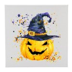 Canvas Pumpkin With Hat Misc. Gift Awards